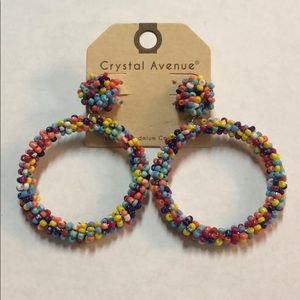 Colorful Bead Earrings